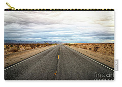 Many Miles Through Mojave Desert Carry-all Pouch