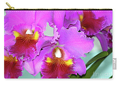 Carry-all Pouch featuring the photograph Many Purple Orchids by Lehua Pekelo-Stearns