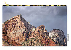 Carry-all Pouch featuring the photograph Many Splendored Zion by John M Bailey