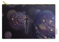 Carry-all Pouch featuring the painting Many Worlds by Amyla Silverflame