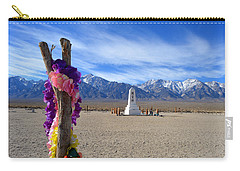 Manzanar Carry-all Pouch by Nature Macabre Photography