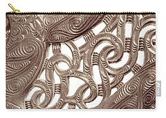 Maori Abstract Carry-all Pouch