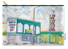 Maple Liquor In Hawthorne Blvd, Los Angeles, California Carry-all Pouch