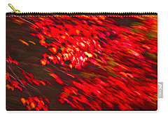 Maple Red Abstract Carry-all Pouch
