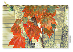 Maple Carry-all Pouch by Ronda Broatch
