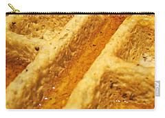 Carry-all Pouch featuring the photograph Maple Street by Robert Knight