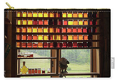 Carry-all Pouch featuring the photograph Maple Syrup Window by Tom Singleton