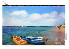 Mar Beach Carry-all Pouch by Shirley Stalter