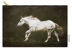 Marble Horse Carry-all Pouch