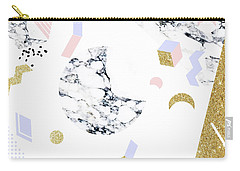 Marble Moon Abstraction Carry-all Pouch