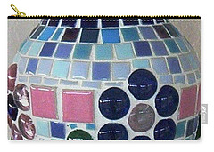 Carry-all Pouch featuring the glass art Marble Vase by Jamie Frier