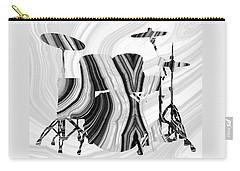 Marbled Music Art - Drums - Sharon Cummings Carry-all Pouch by Sharon Cummings