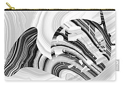 Marbled Music Art - French Horn - Sharon Cummings Carry-all Pouch