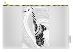 Marbled Music Art - Saxophone - Sharon Cummings Carry-all Pouch