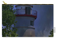 Carry-all Pouch featuring the photograph Marblehead In Starlight by Joan Bertucci