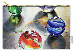 Marbles 3 Carry-all Pouch