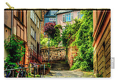 Carry-all Pouch featuring the photograph Marburg Alley by David Morefield
