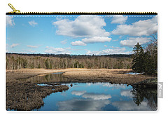 March Afternoon At Black Creek Carry-all Pouch
