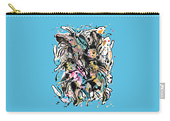 March Hares Carry-all Pouch
