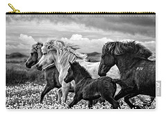 March Of The Mares Carry-all Pouch