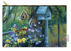 Marcia's Garden Carry-all Pouch