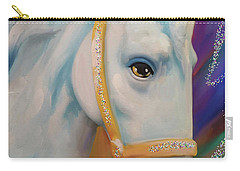 Mardi Gras Horse Carry-all Pouch