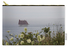 Margaret Todd Sailing On A Foggy Evening Carry-all Pouch by Living Color Photography Lorraine Lynch