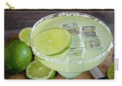 Carry-all Pouch featuring the photograph Margarita Close Up by Teri Virbickis