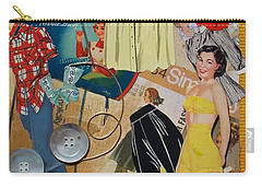 Margie Carry-all Pouch by Virginia Coyle