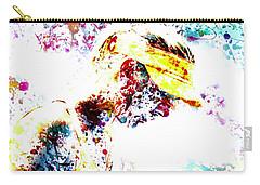 Maria Sharapova Paint Splatter 4p                 Carry-all Pouch