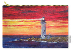 Marien's View Carry-all Pouch by T Fry-Green