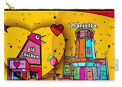 Marietta Popart 2018 By Nico Bielow  Carry-all Pouch