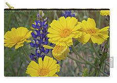 Marigolds And Lupines Carry-all Pouch