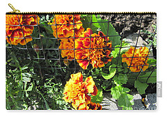 Marigolds In Prison Carry-all Pouch