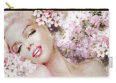 Marilyn Cherry Blossom B Carry-all Pouch