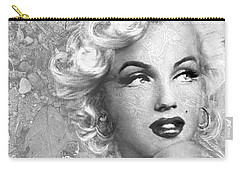 Marilyn Danella Ice Bw Carry-all Pouch