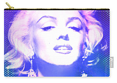 Marilyn Disco Retro Carry-all Pouch by Kim Gauge