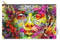 Marilyn Flower Carry-all Pouch