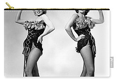 Marilyn Monroe And Jane Russell Carry-all Pouch by American School