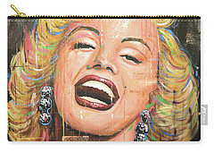 Marilyn Monroe Film Movie Actress Art Painting Carry-all Pouch