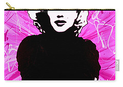 Marilyn Monroe In Hot Pink Carry-all Pouch