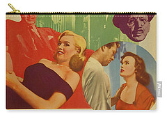 Marilyn Monroe In The Asphalt Jungle Movie Poster Carry-all Pouch