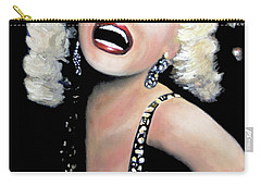 Marilyn Monroe Carry-all Pouch by Marti Green