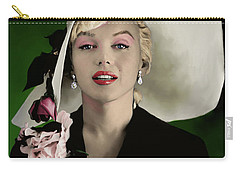 Marilyn Monroe Carry-all Pouch by Paul Tagliamonte