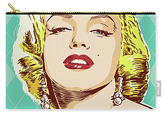 Marilyn Monroe Pop Art Carry-all Pouch