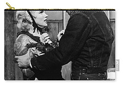 Carry-all Pouch featuring the photograph Marilyn Monroe Scene by R Muirhead Art