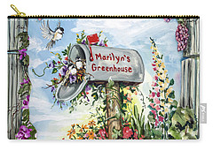 Marilyn's Greenhouse Carry-all Pouch