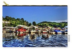 Marina At Cheat Lake Clear Day Carry-all Pouch