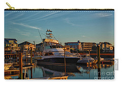 Marina At Sunset Carry-all Pouch by Kathy Baccari