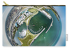 Carry-all Pouch featuring the photograph Marina by Randy Scherkenbach